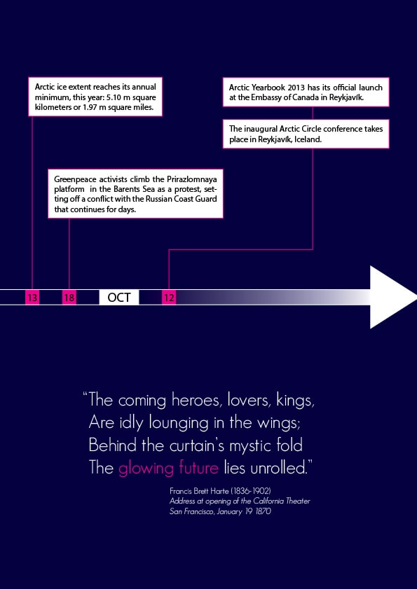 Arctic Yearbook 2013 Timeline - Page 10